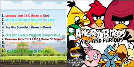 Angry birds wild and furious bAck-horz