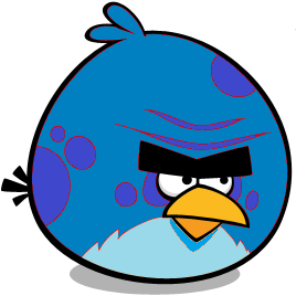 Ocean blue bird angry birds fanon wiki fandom powered by wikia - Angry birds big brother plush ...