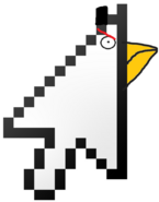 Mouse Pointer Bird New