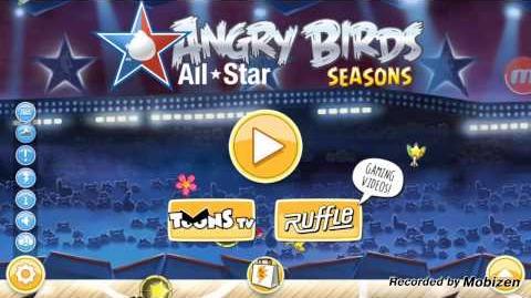 Angry Birds Seasons Nba Ham dunk theme