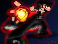 Evil king mario by shadamymephonic-d41nwod