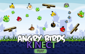 Angry Birds Kinect Loading Screen