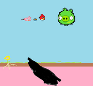 Angry Birds Fairies backround
