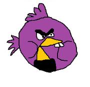 Purple Chipmunk Bird
