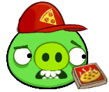 Angry Birds Pizza Pig