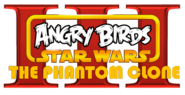 Angry Birds Star Wars Episode III The Phantom Clone Logo