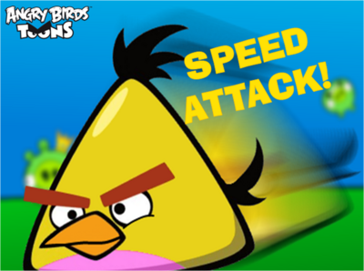 Speed Attack! Title Card