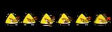 Yellow bird spirites