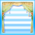 String cafe curtains