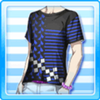 Geometry T-Shirt Blue