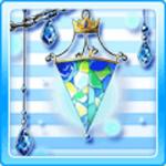 Sicilian Glass Lamp Blue