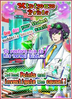 Minimum Panic event detail poster