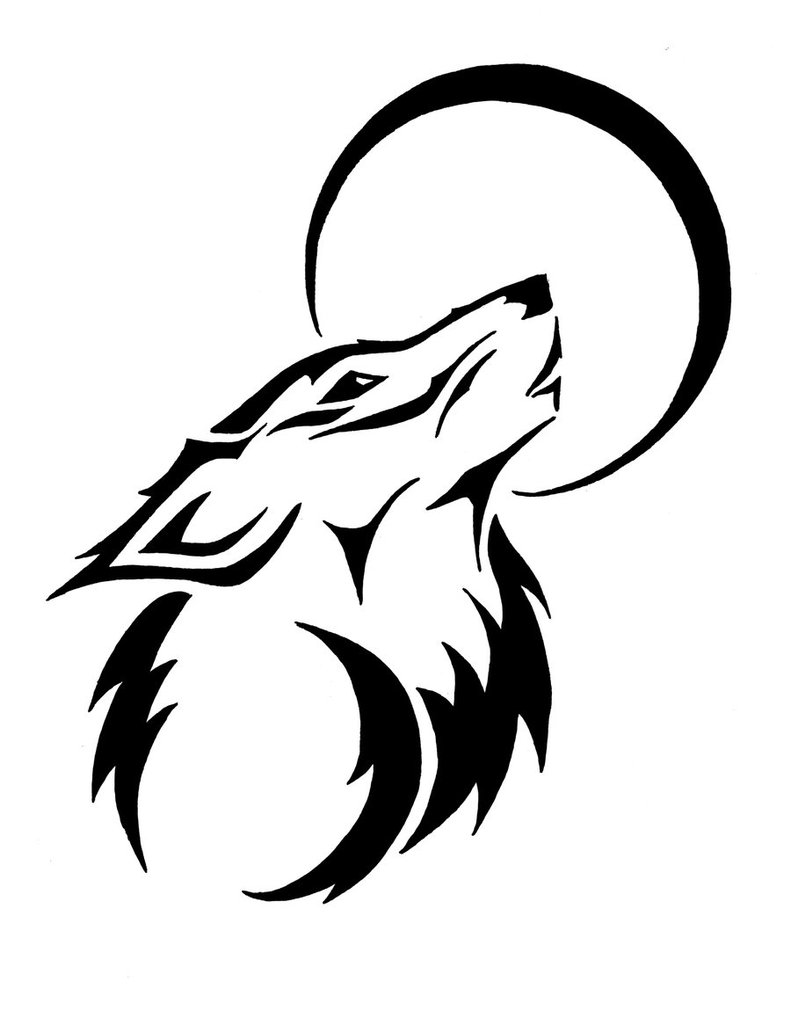 Draw A Howling Wolf With This Howto Video And Stepbystep Full Resolution