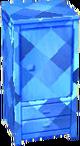 Sapphire blue wardrobe