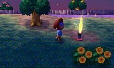 Fountain firework new leaf