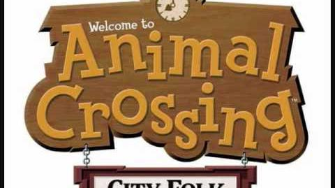 Animal Crossing City Folk Music Auction House