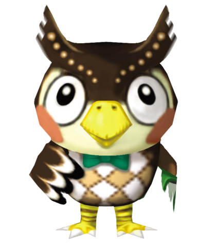 File:Blathers - Animal Crossing.png