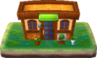 Animal Crossing New Leaf The Roost Cafe Size
