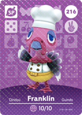 Amiibo 216 Franklin