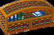 Cabana bookcase colorful