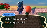 Groucho Informing a Sick Villager