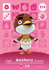 Amiibo 219 Anchovy
