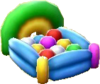 Balloon bed