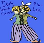 Dark Woods Circus twins
