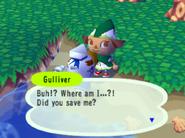 Talking to him