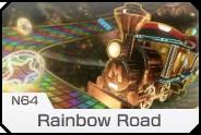MK8- N64 Rainbow Road