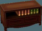 Classic bookcase chocolate