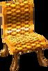 Cabana chair gold