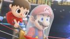Villager Catches Mario