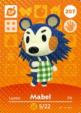 Amiibo 207 Mabel