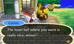 Curlos Talks About the Town Hall