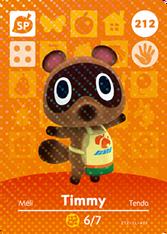 Amiibo 212 Timmy