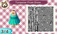 Turquoise Prom Dress 34