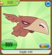 Museum-Shop Eagle-Hat Orange