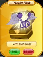 Meet-Cosmo Koala Mech-Angel-Wings Purple