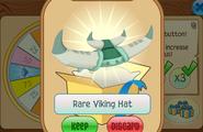 Daily-Spin-Gift Rare-Viking-Hat