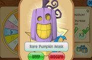 Daily-Spin-Gift Rare-Pumpkin-Mask