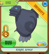 Shop Knight-Armor Blue