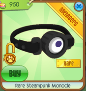 Rare Steampunk Monocle