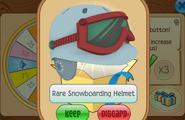 Daily-Spin-Gift Rare-Snowboarding-Helmet