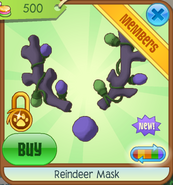 Shop Reindeer-Mask Purple