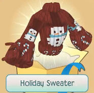 JAG Holiday-Sweater red