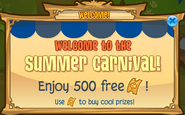Summer-Carnival Welcome