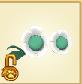 Item Flower Glasses Teal