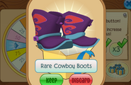 Daily-Spin-Gift Rare-Cowboy-Boots