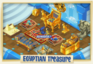 Egyptian-Treasure Item-Collection Ad